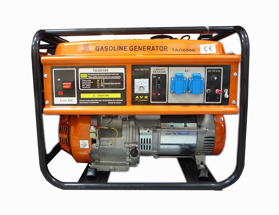 Генератор за ток с бензинов двигател TAG NC6500