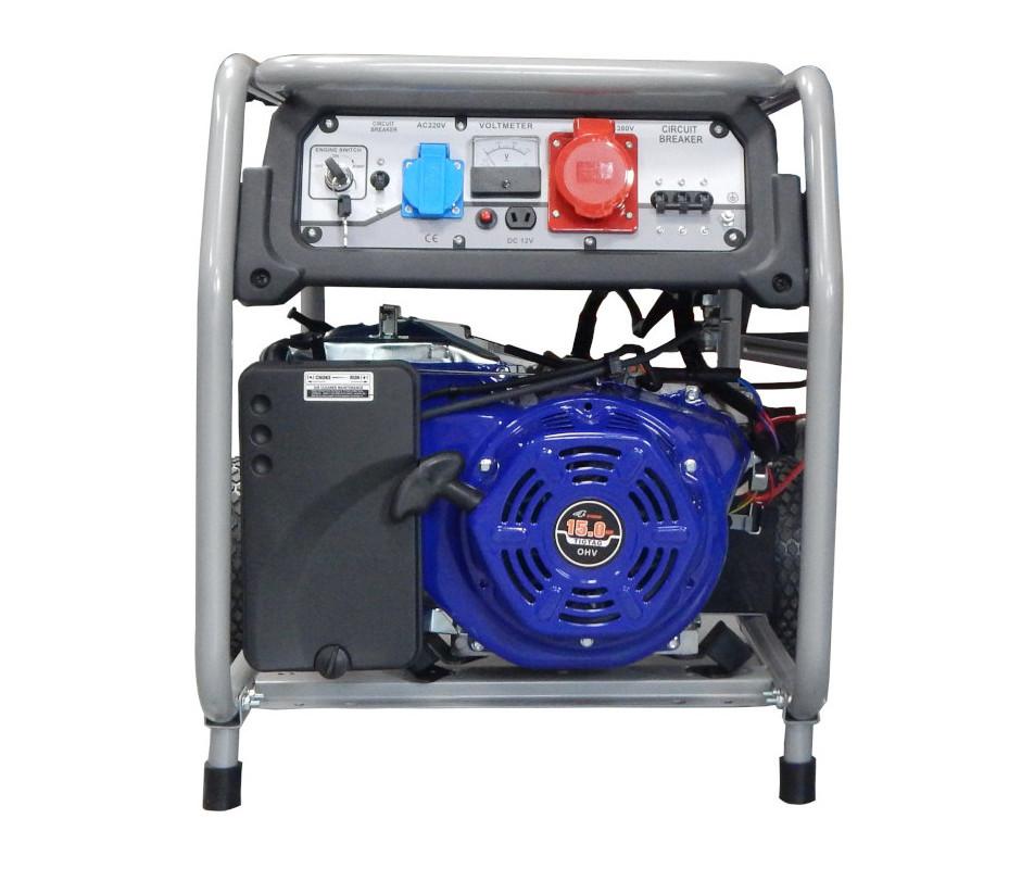 Бензинов генератор HS6500