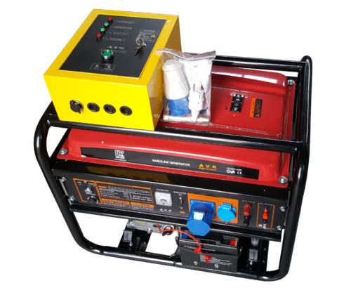 бензинов генератор 7800