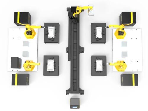 роботизирано заваряване, fiber laser, файбър лазер