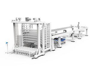 лазерен комплекс автоматичен, fiber laser, файбър лазер, лазерна глава